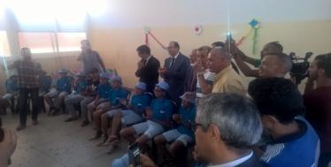 العمران تواصل عملها المواطن  وتطلق من جديد عملية المخيمات الصيفية لفائدة أطفال أحياء الصفيح