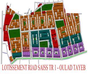 LOTISSEMENT RIAD SAISS TRANCHE 1