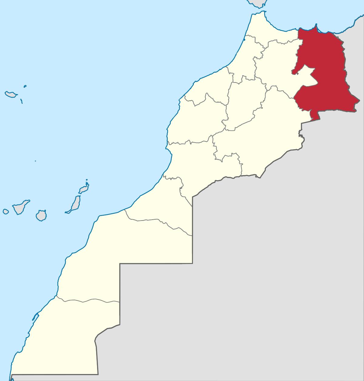 région de l'oriental
