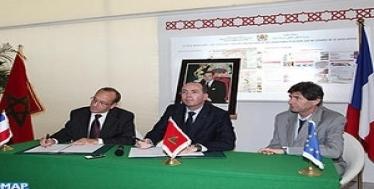 توقيع اتفاق تعاون بين مجموعة العمران والاتحاد الاجتماعي الفرنسي للإسكان