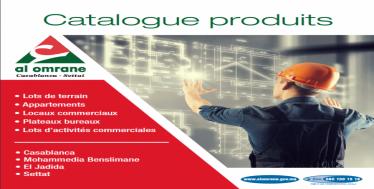 CATALOGUE PRODUIT 2019 - AL OMRANE CASABLANCA SETTAT