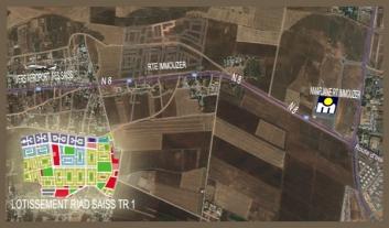 Avis de vente à ghichet ouvert des lots au lotissement RIAD SAISS TR 1 à Fès