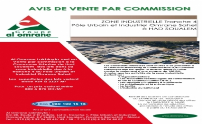 AVIS DE VENTE PAR COMMISSION