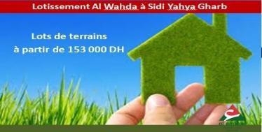 Lotissement Al Wahda 4 à Sidi Yahia du Gharb