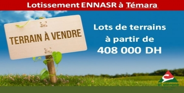 Lotissement Ennasr à Témara
