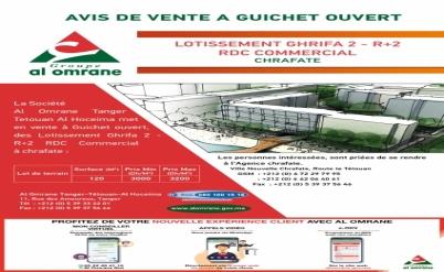 Avis de vente à Guichet Ouvert