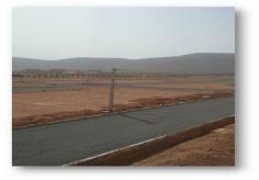 Photo réelle projet Oued Noun