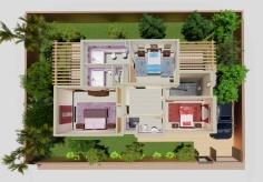 Plan type Etage