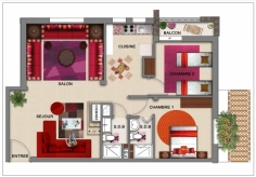 Appartement 1 étage