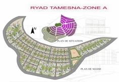 Plan masse Riad Tamesna